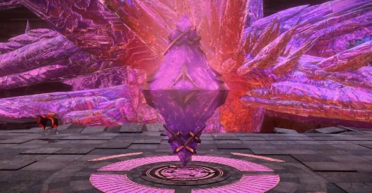 ダンジョン内の水晶をすべて破壊する